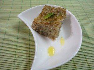 Kibe vegetariano de batata
